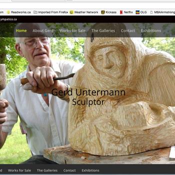 Gerd Untermann|Sculptor