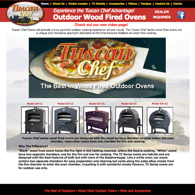 Tuscan Chef Ovens