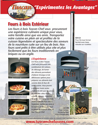 Tuscan Chef Consumer Brochure French