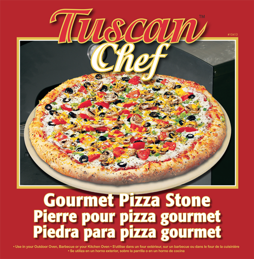 Tuscan Chef Pizza Stone Box